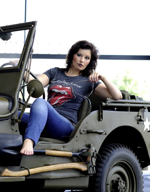 Car Jeep Rolling Stones Fotoshooting Shooting