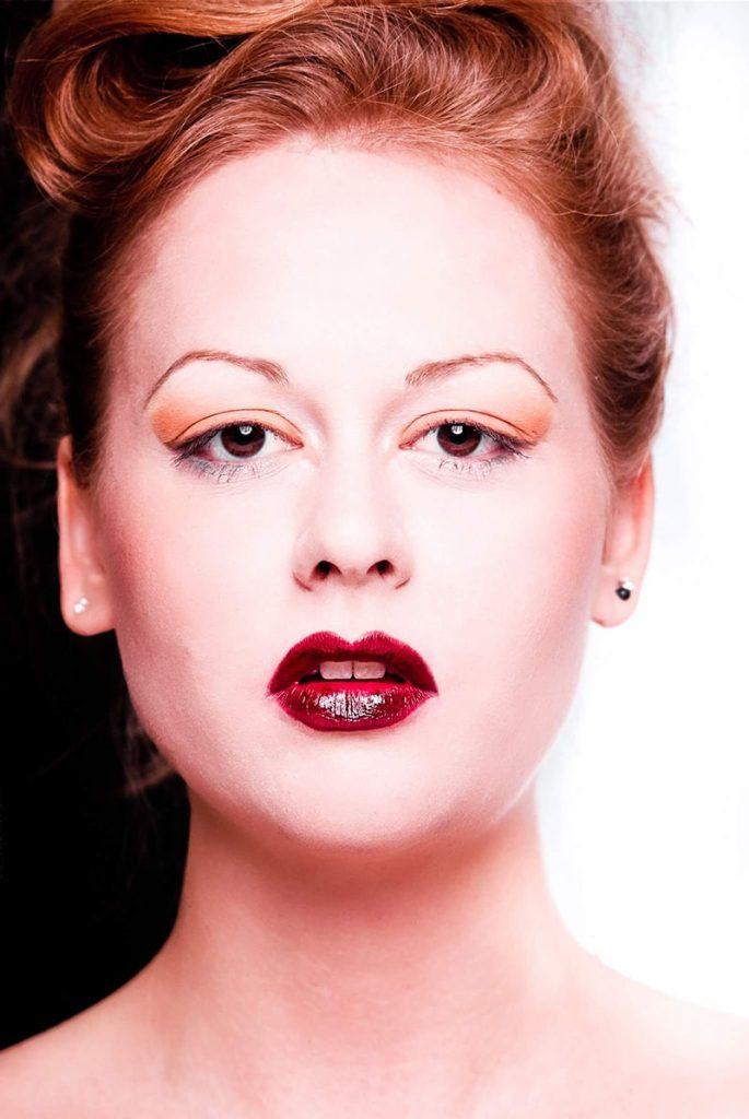 Make-up Close-up Portrait