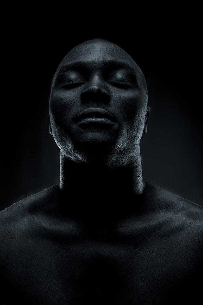 Black Portrait Male Männlich